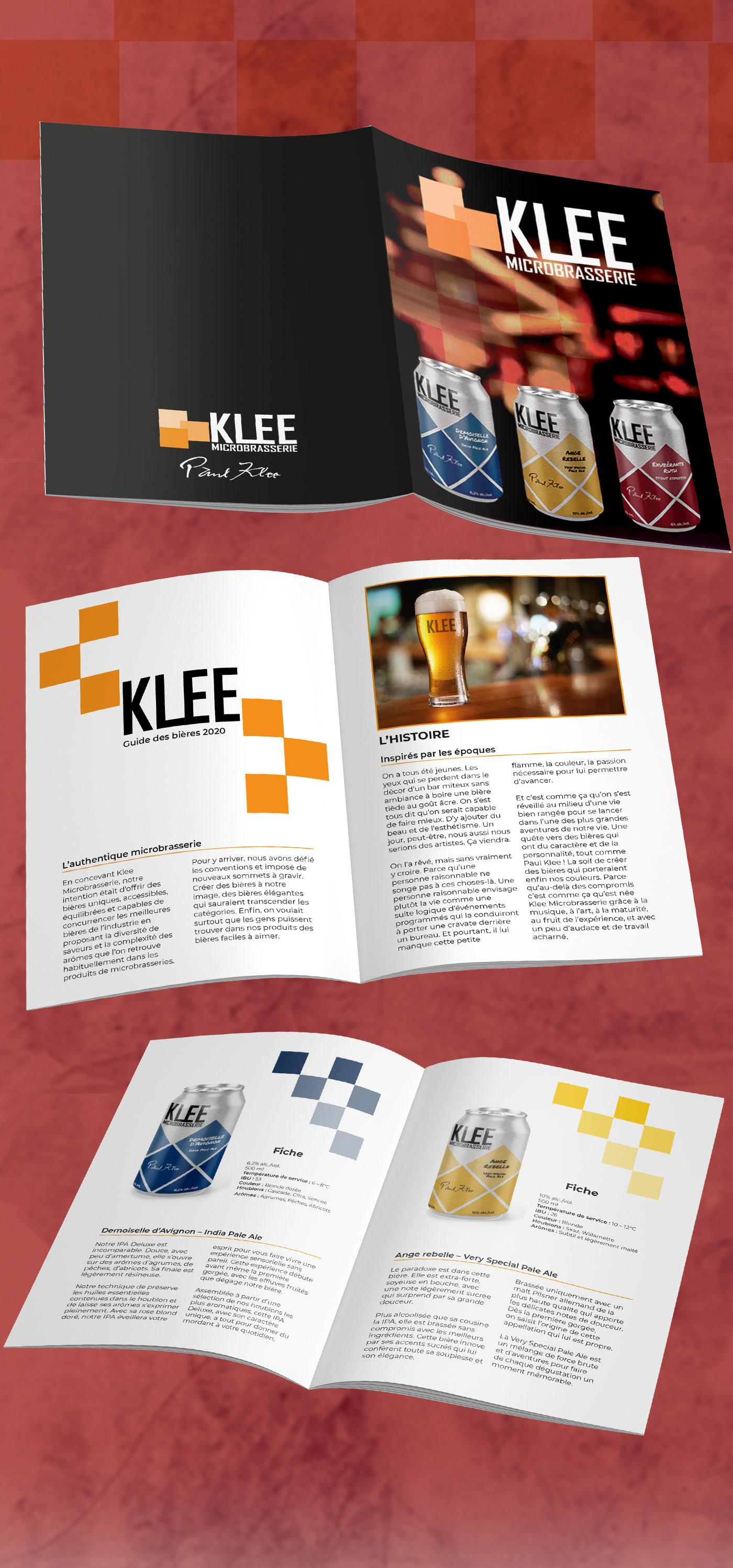 bière design klee microbrasserie