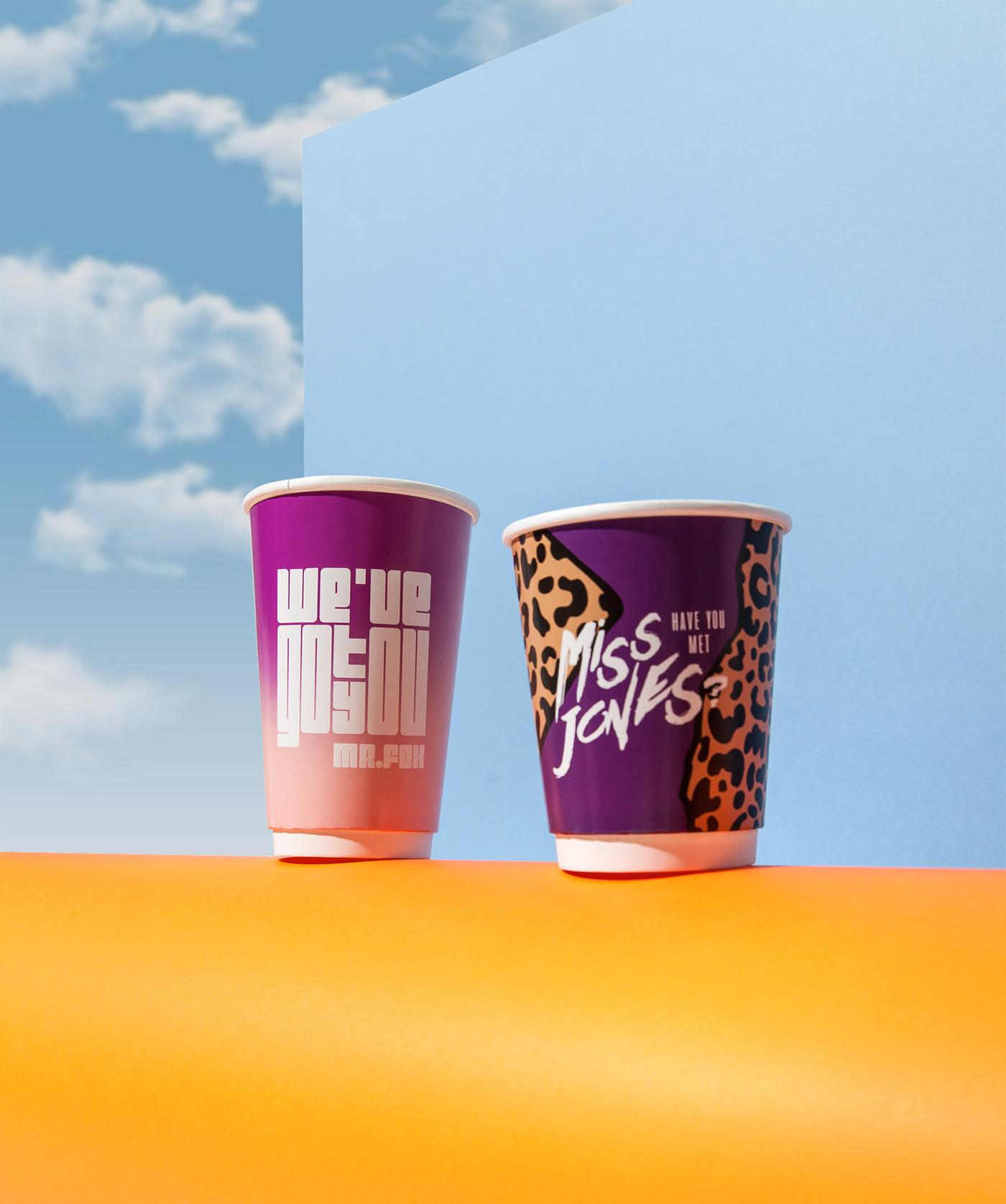 brand identity branding  cafe Coffee coffee cup Logo Design Packaging takeaway