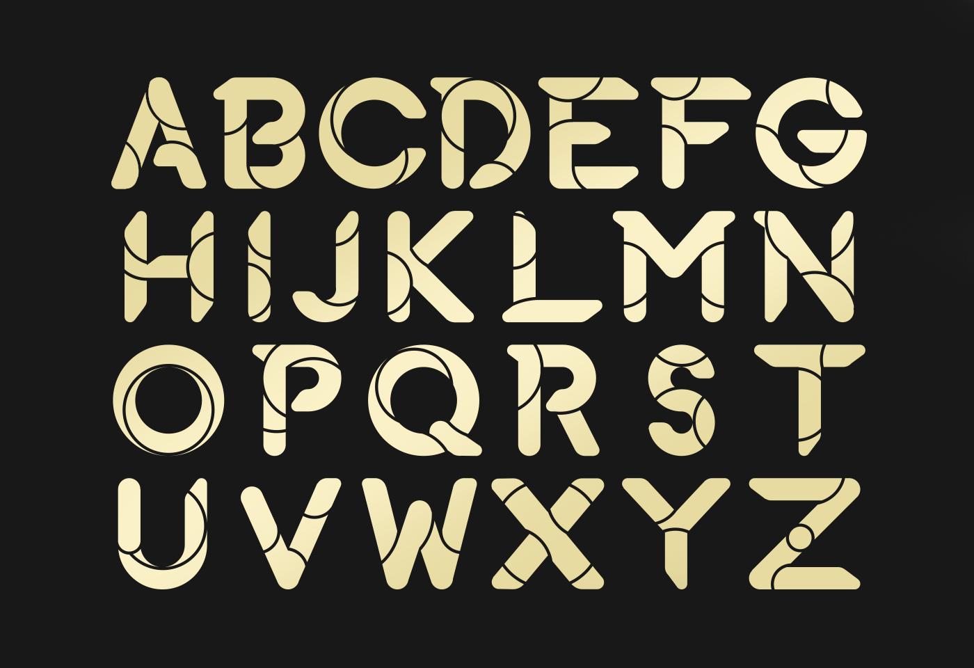 typo zinp fuerte type Typeface font free Free font editable modern uppercase