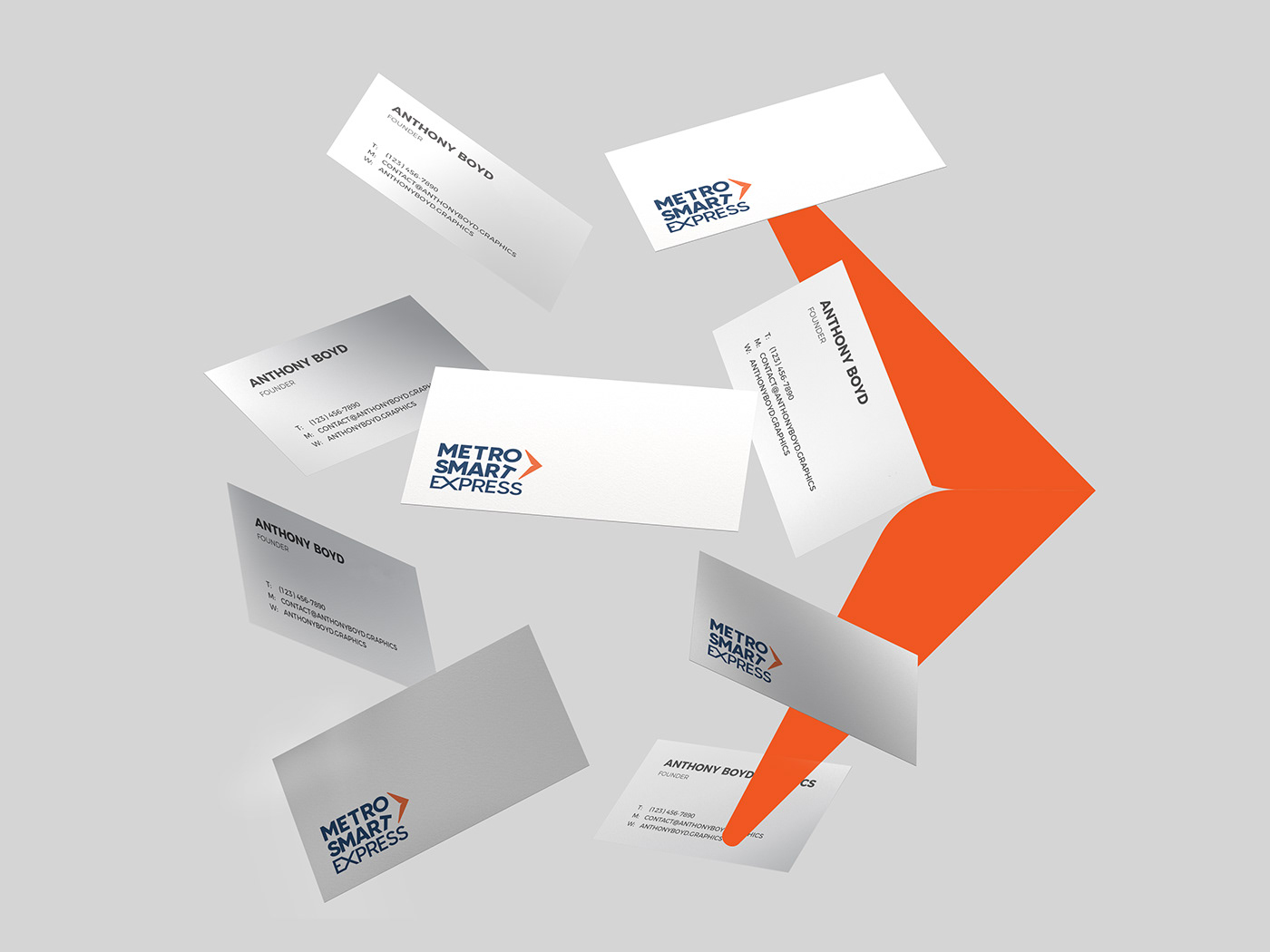 branding  Cargo ceaseless delivery logistic logo MSX shipping