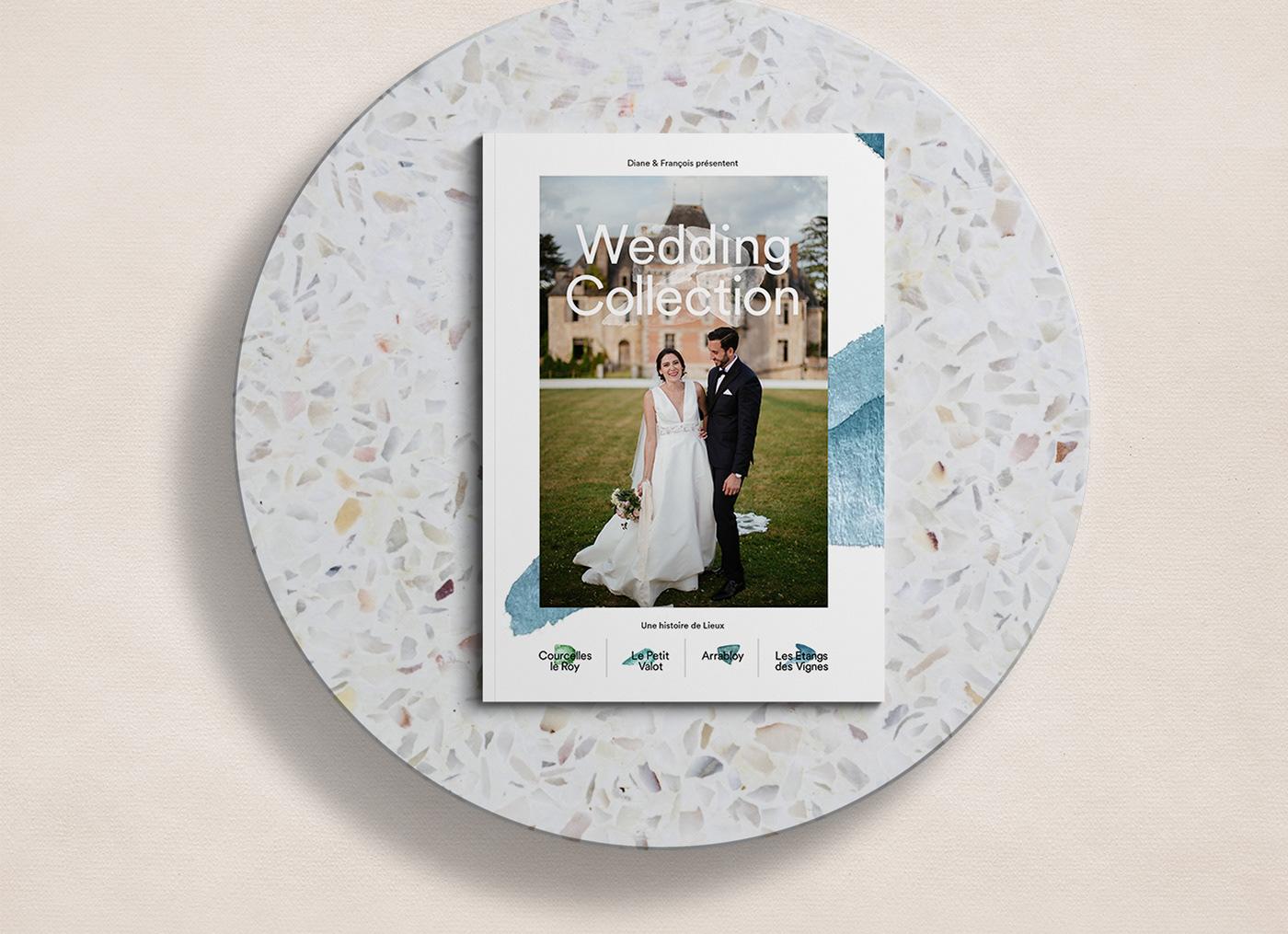 arrabloy courcelles le roy direction artistique identité Label le petit valot logo mariage reception wedding