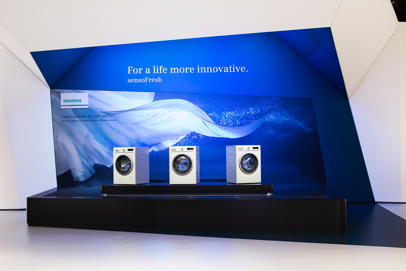 home connect - siemens home appliances at ifa 2015 on behance