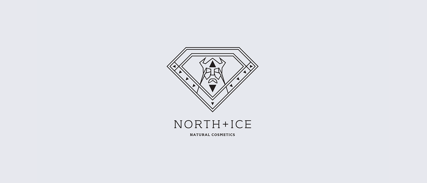Packaging ice north products Nature cosmetics brands beautyful Scandinavia iceland