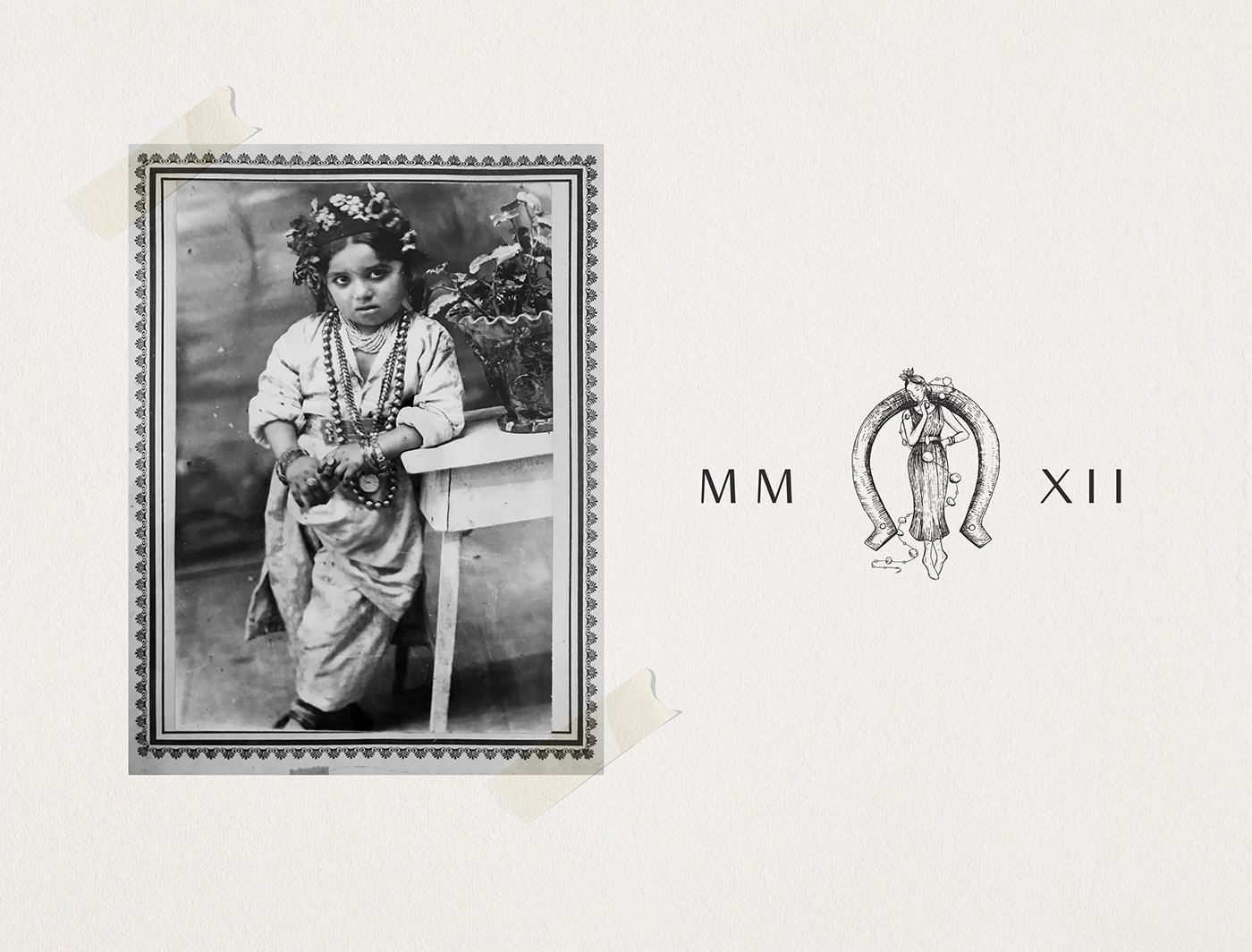 branding  ILLUSTRATION  jewelry Packaging vintage