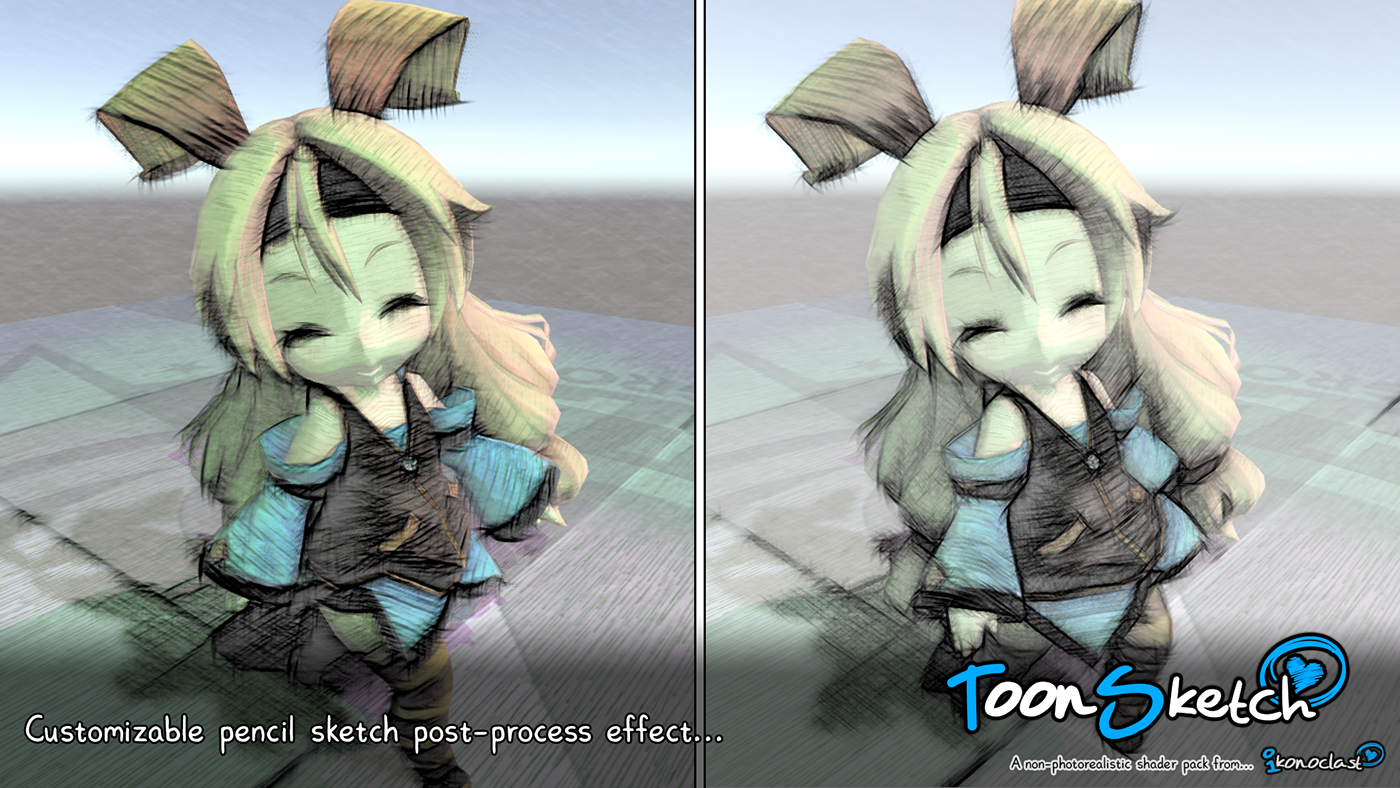 ToonSketch NPR Shaders for Unity on Behance