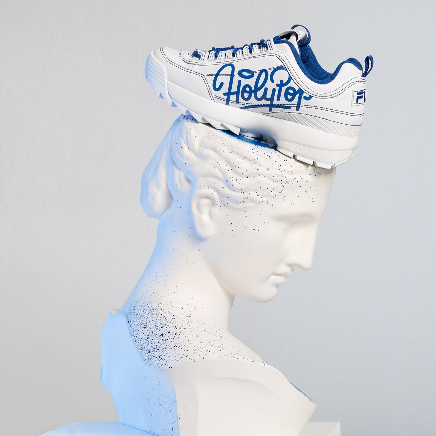 collabo disruptor fila holy Holypop hype kicks pop sneaker sneakers
