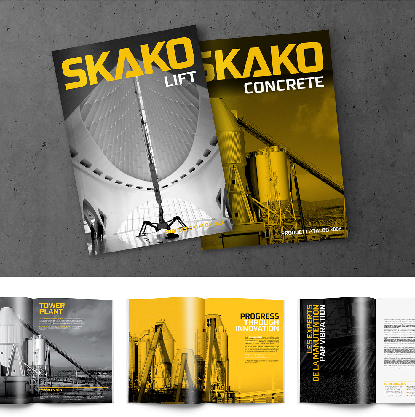Skako Corporate Visual Identity on Behance