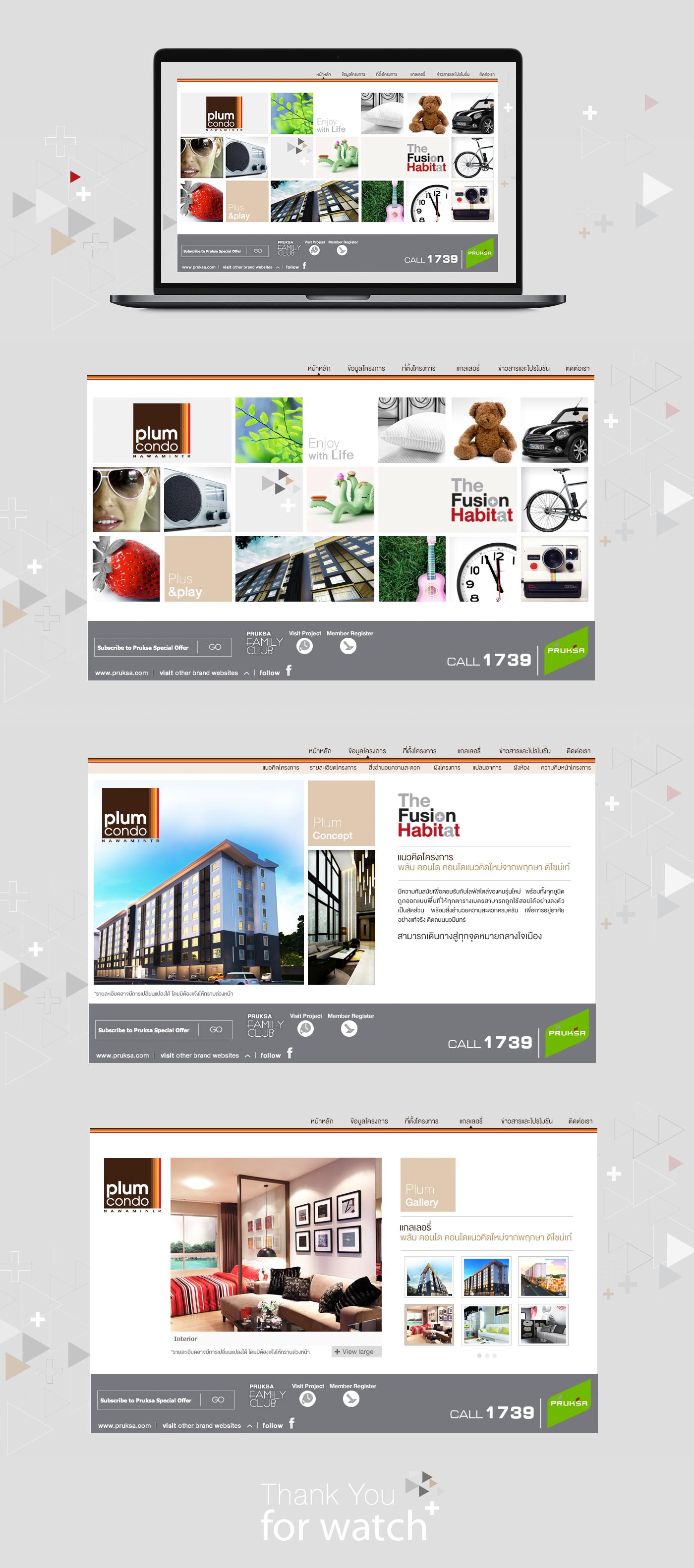 Web Design  Theme Design microsite