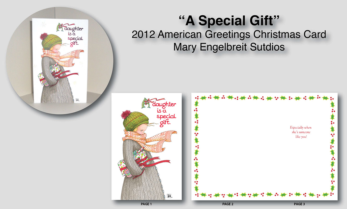 2012 Christmas - Mary Engelbreit Greeting Cards on Behance