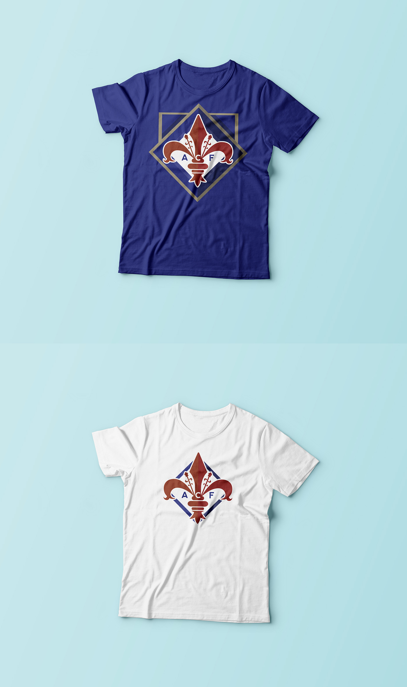 ACF Fiorentina - Rebrand Concept on Behance 93f3a76be