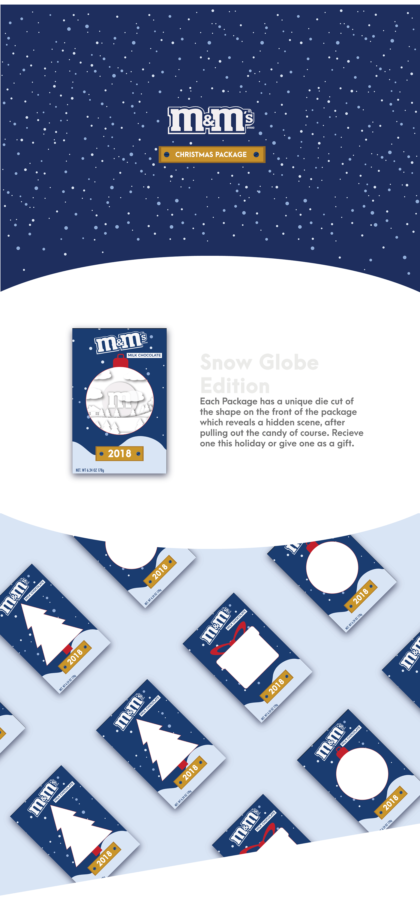 M&M | CHRISTMAS PACKAGE on Behance