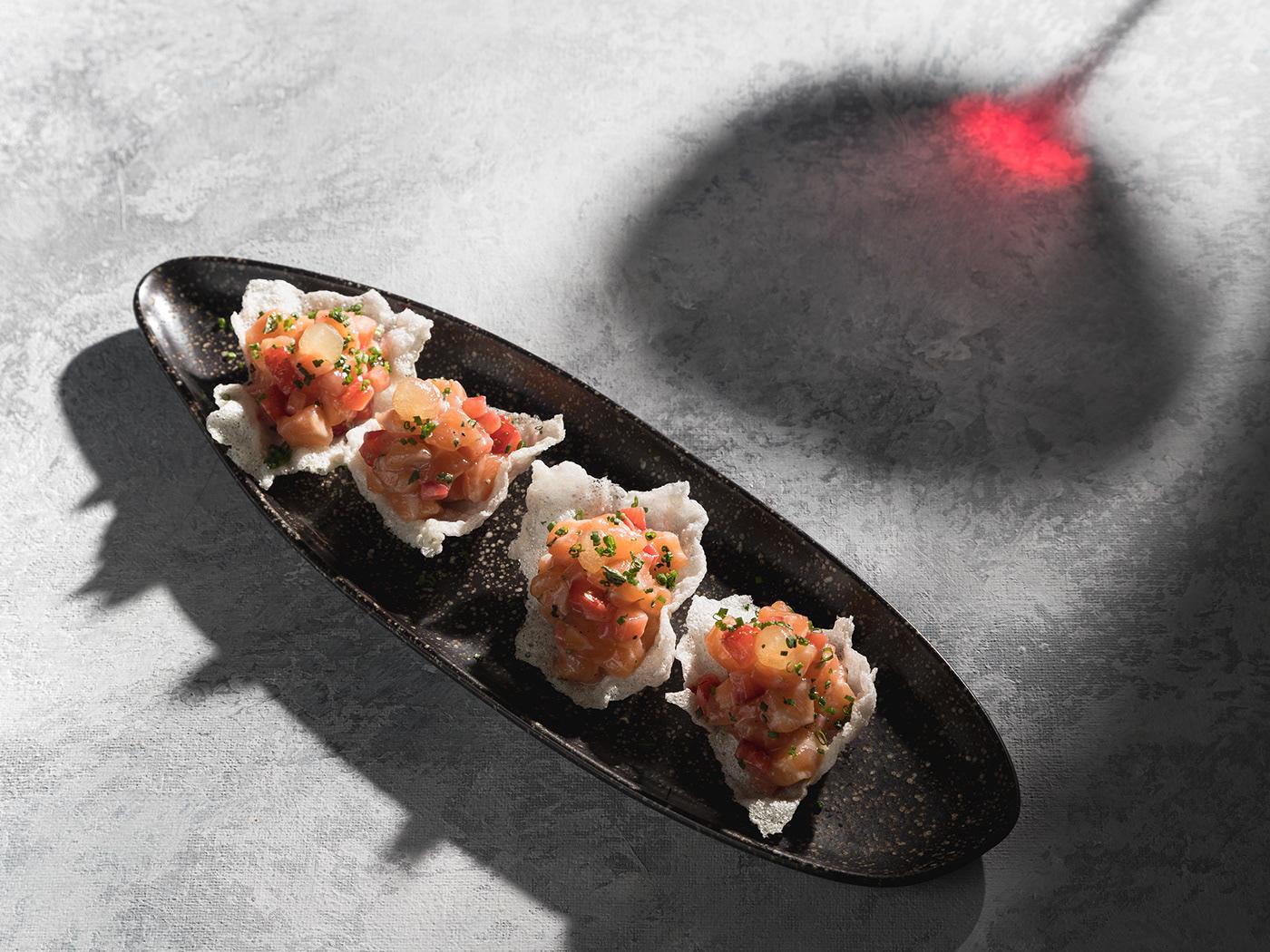 Image may contain: food, dish and sushi