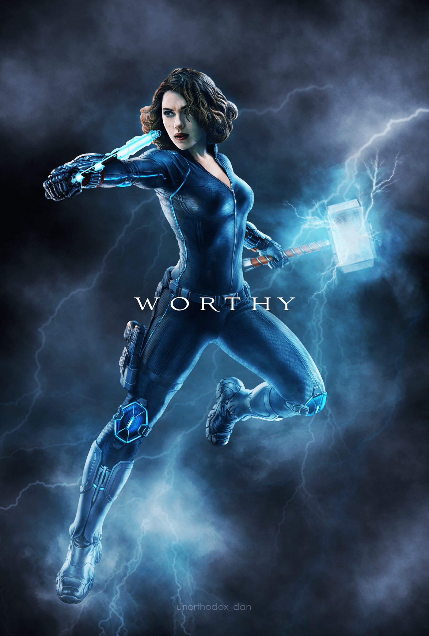 art marvel photoshop posterdesign Thor
