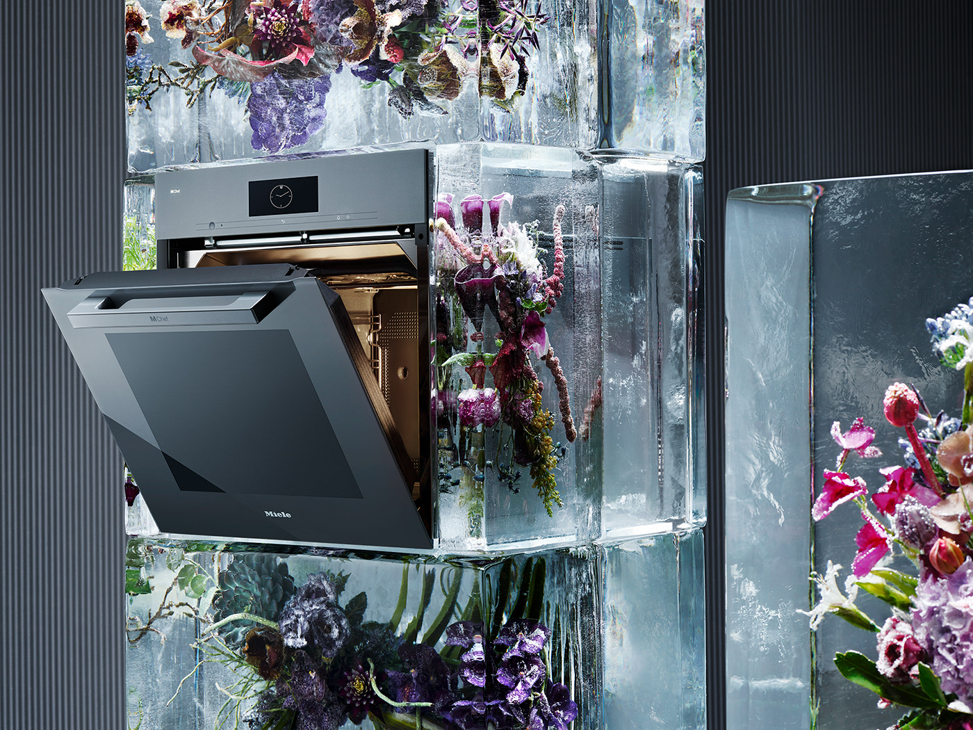 Flowers,water,ovens,art,kitchen,appliance,Nature,installation,colour,Technology