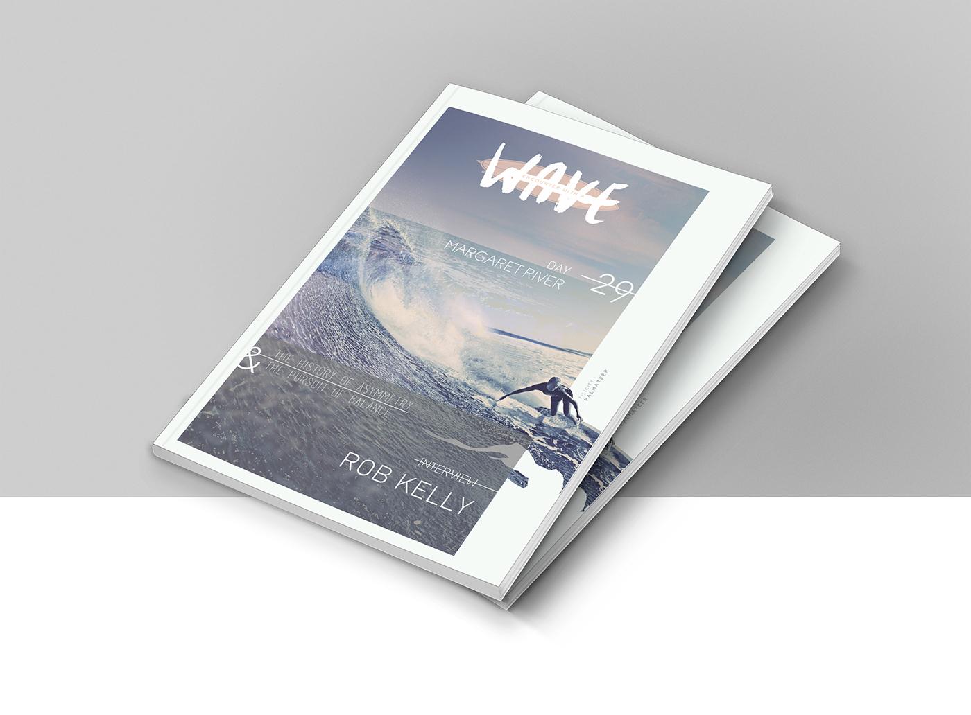 wave Surf surfing lifestyle magazine sport beach