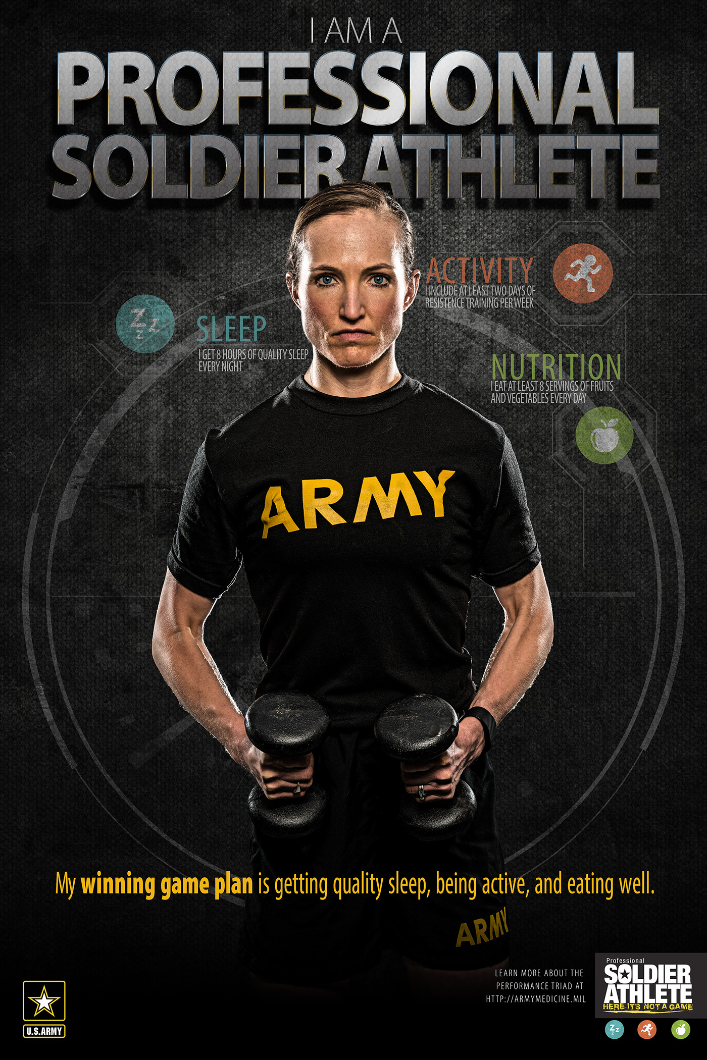 Unstoppable Professional Soldier Athlete Series On Behance