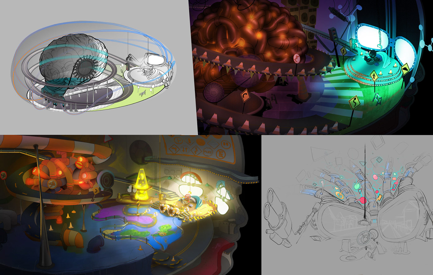 Character design  animation  art Lookdev concept colorscript Film