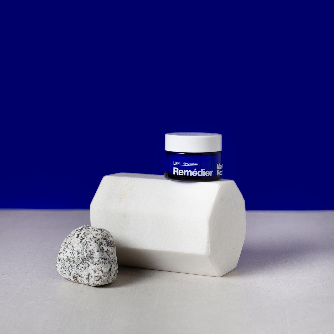 Jo Cutri Studio. Branding. Logo. Packaging Design. Magnesium Spray. Bottle. Jar. Graphic Design