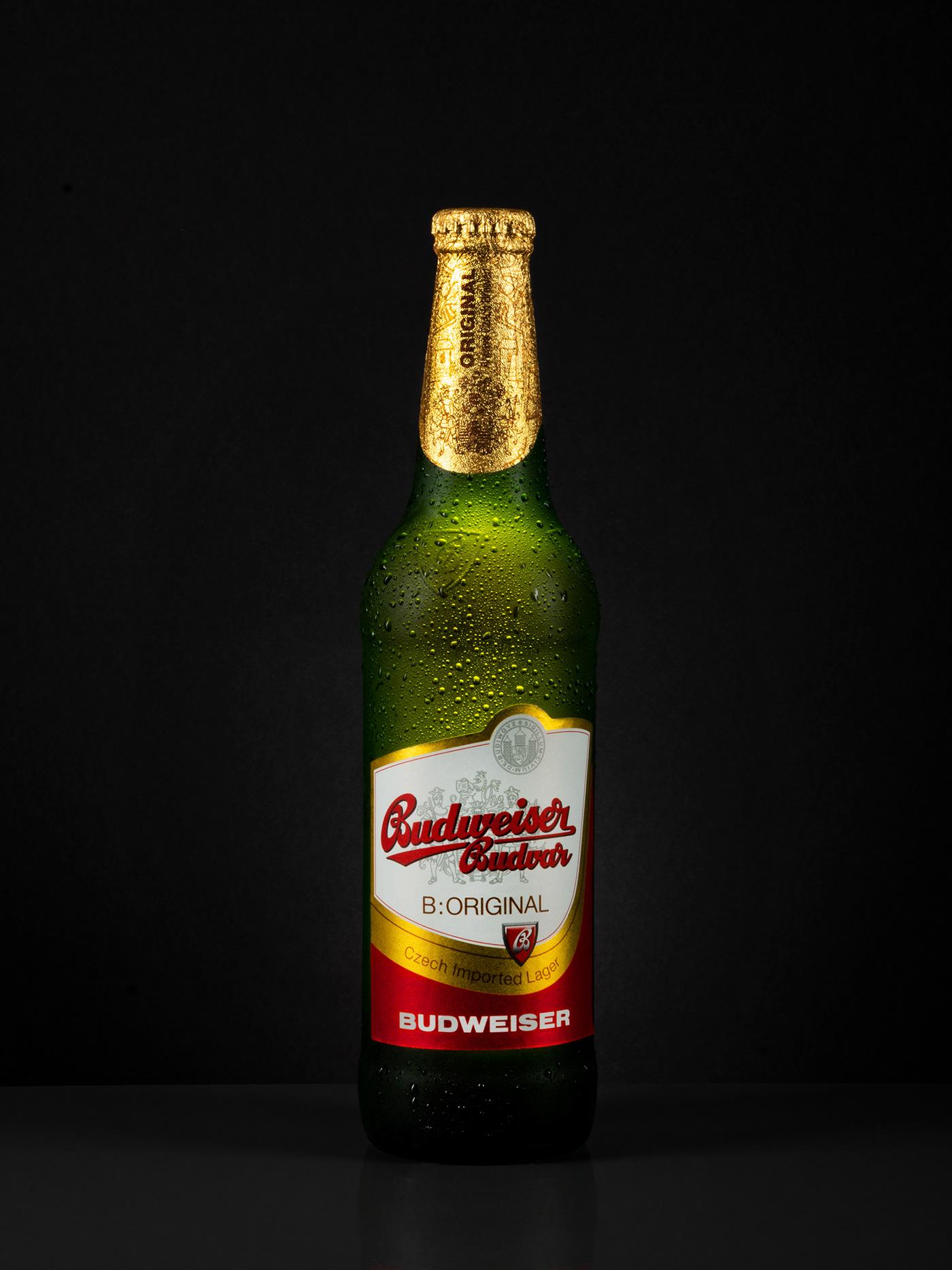 beer Budweiser Packshot Product Photography studio