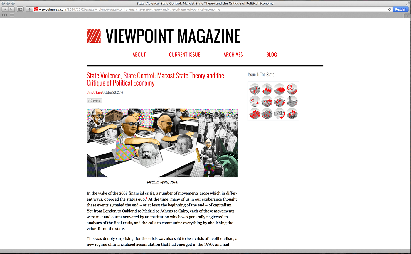 Viewpoint‹ Magazine | Illustration on Behance