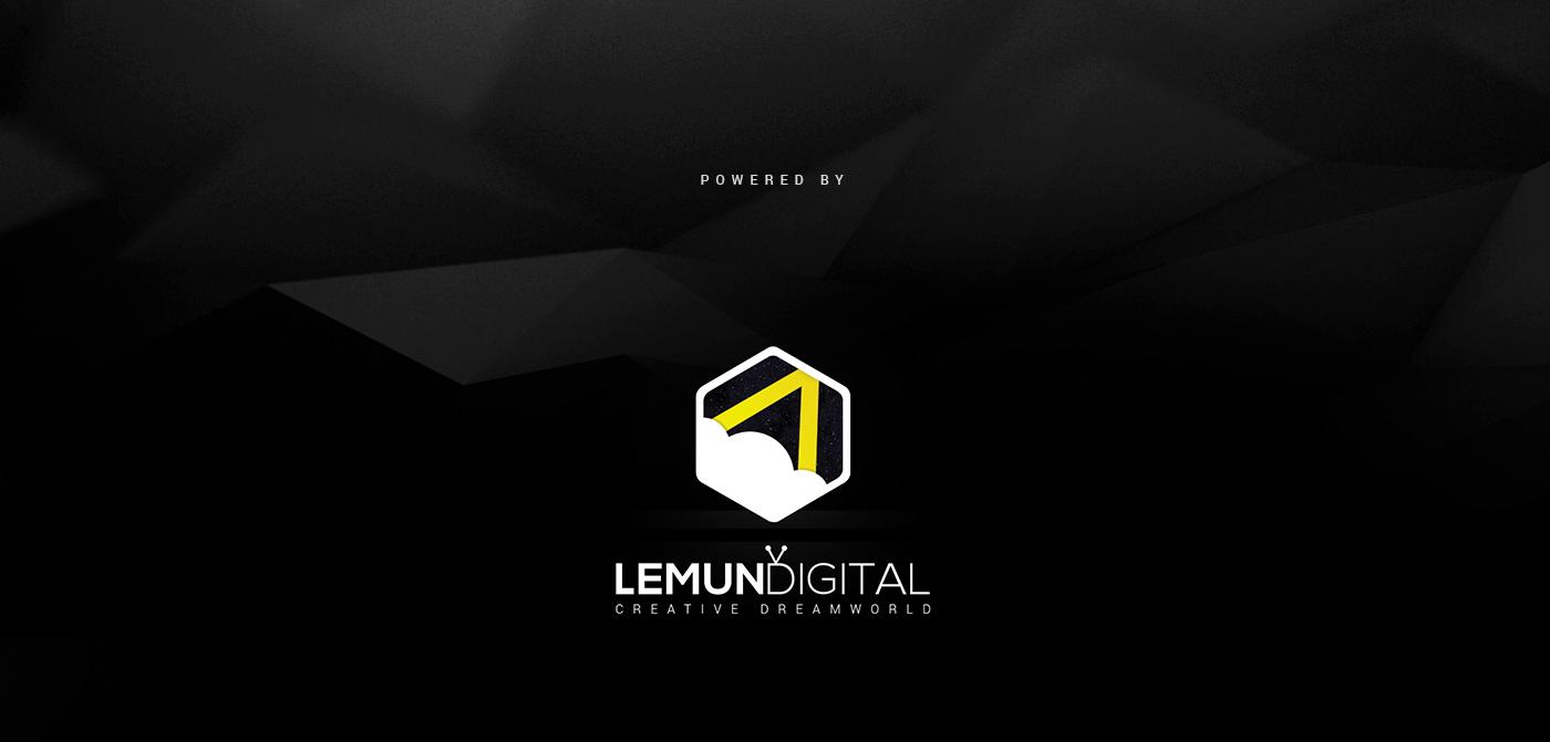 Label design black fuel additive car package lemun digital automobile dark