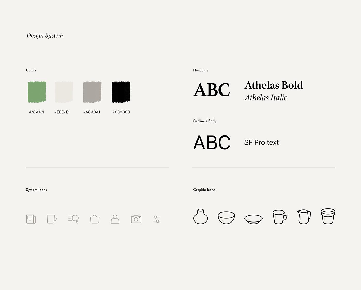 commerce,Appdesign,Shopping,ceramic,UI,ux,app,AR,3D