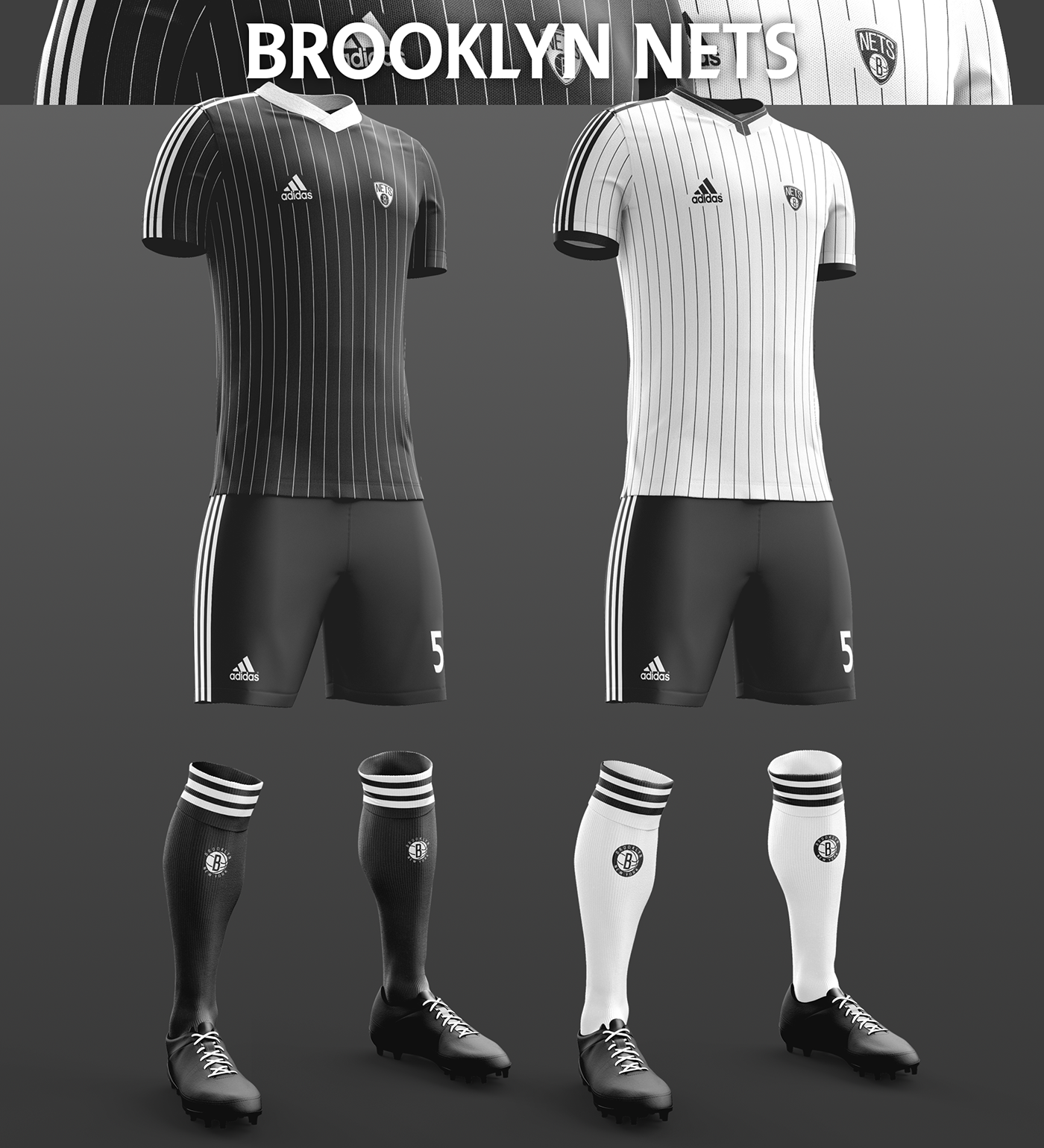 Talisman & Co. | Brooklyn Nets Soccer Concept Kit
