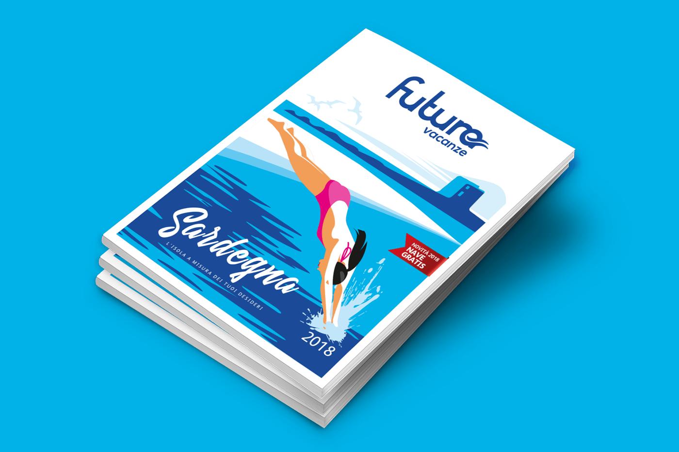 conceptual concettuale flat Illustrator lifestyle Travel Vectorial vettoriale viaggi