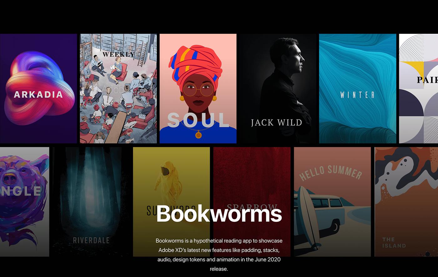 adobexd books Interaction design  UI/UX