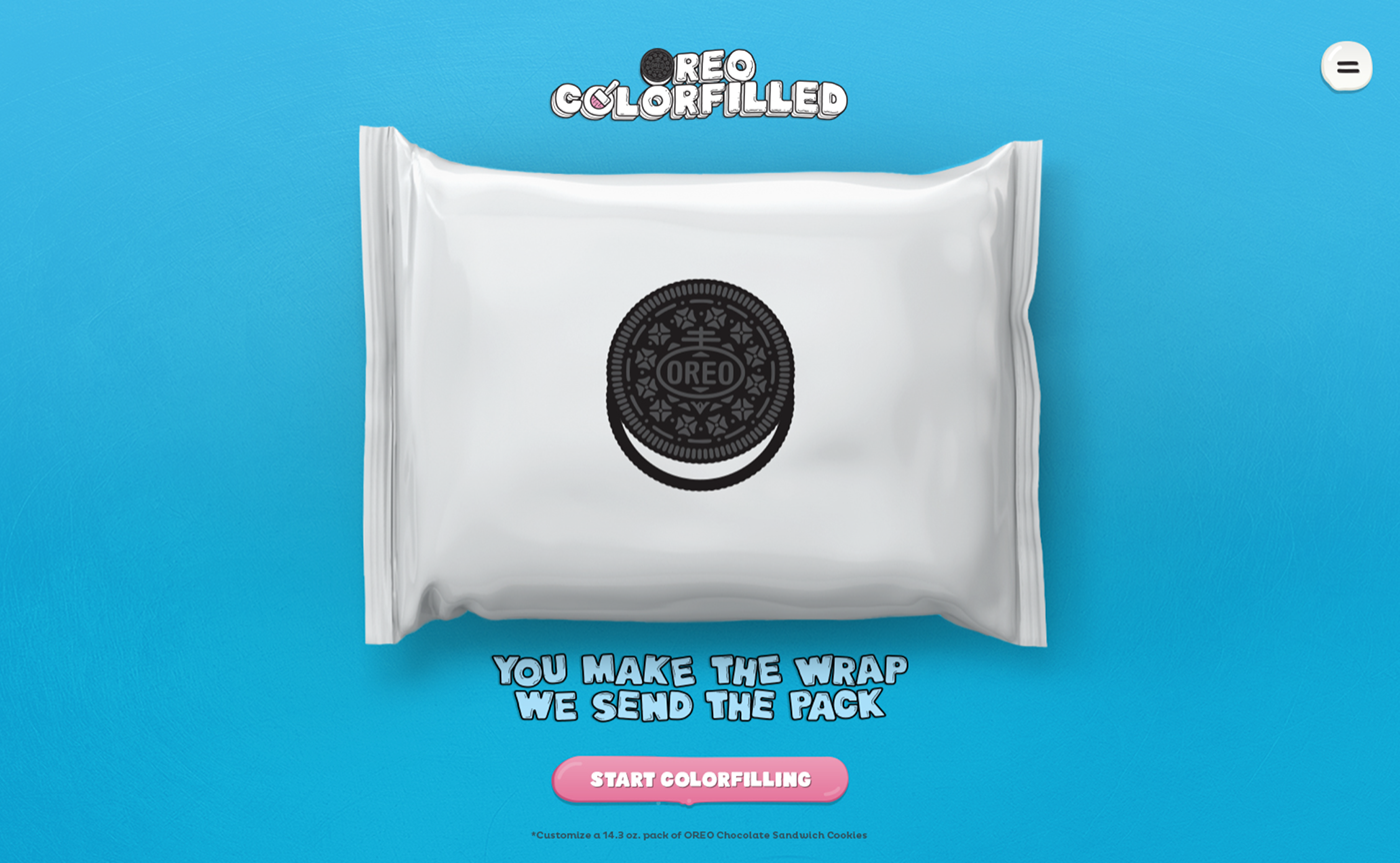 Oreo Colorfilled 2015 On Behance