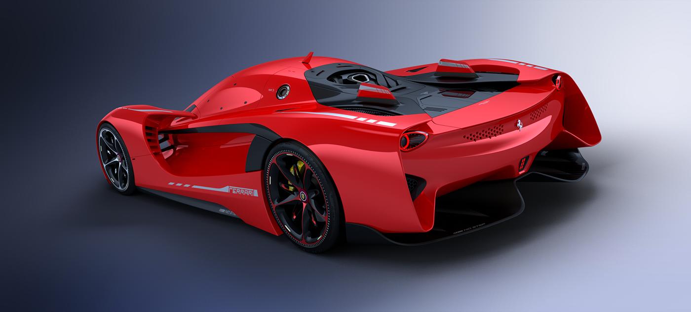Ferrari Vision Gt Concept Unnoficial On Behance