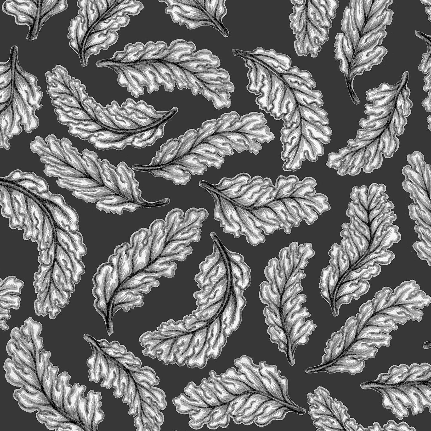 pattern wallpaper design Interior architecture art 3D organic decor Render