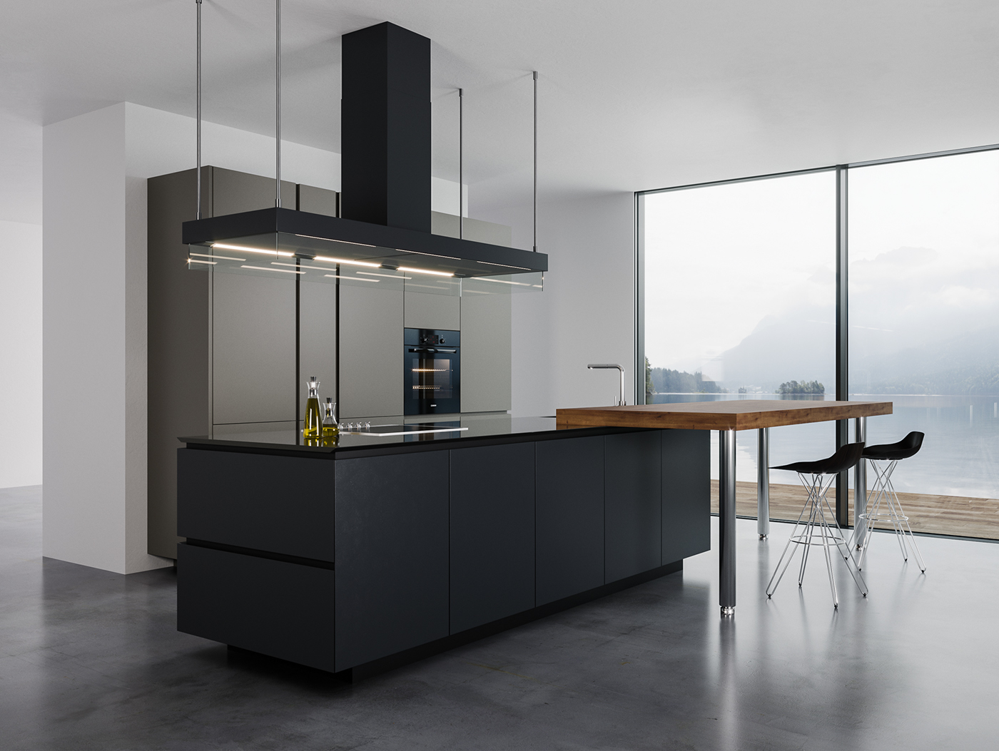 poliform varenna kitchens the idea is to have several sets of images showing different layouts and different models of kitchens in a photorealistic - Poliform Kitchen