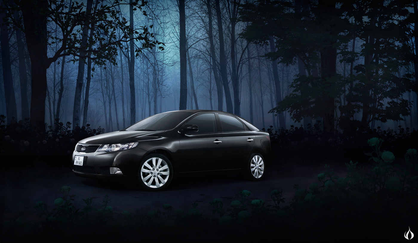 Foggy Night Automotive Photography On Behance