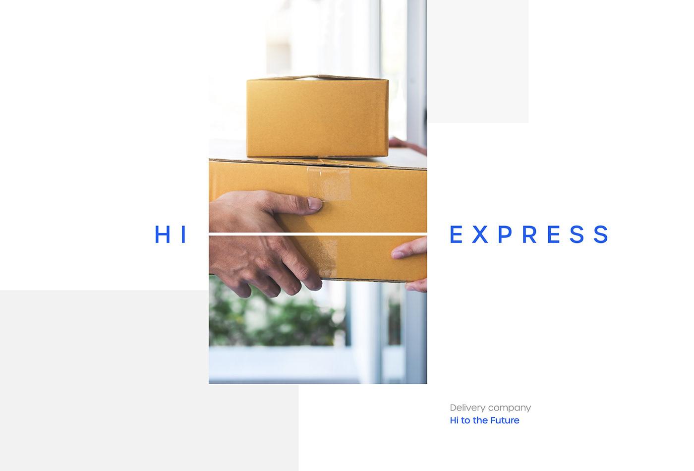 Hi-Express Brand Identity