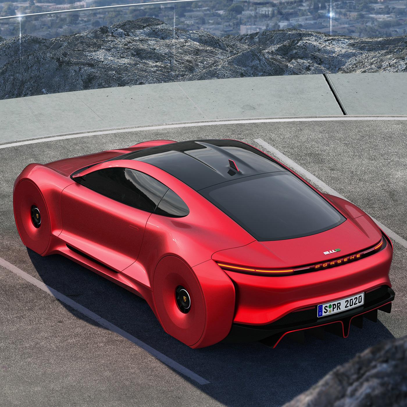 2020 Porsche 911E On Behance