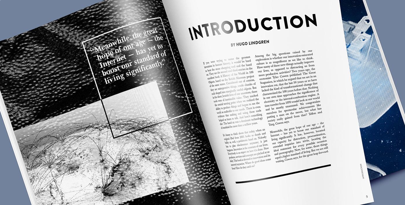 publication innovation future past magazine essay Web typography
