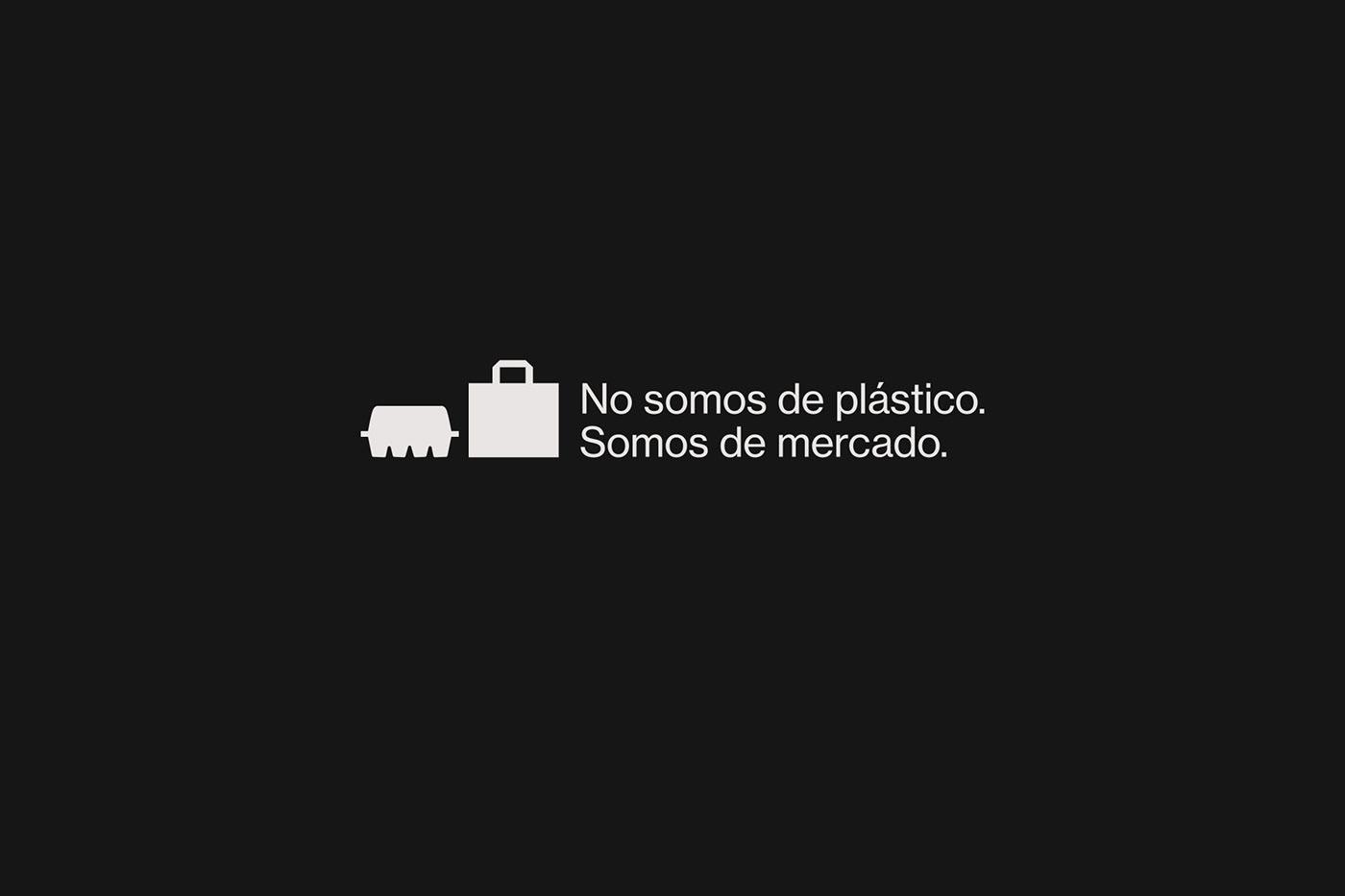 atipus barcelona black campaing design graphic design  madrid market Photography  White