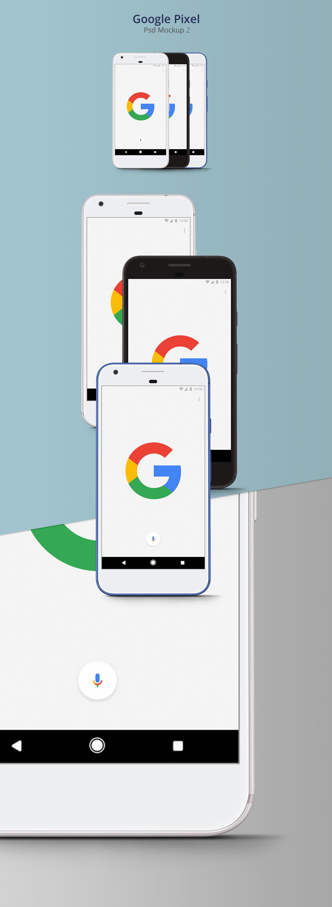 Pixel Psd,Google Pixel Psd,Pixel Psd Mockup,psd mockup,madeby google,free mockup ,mock-up