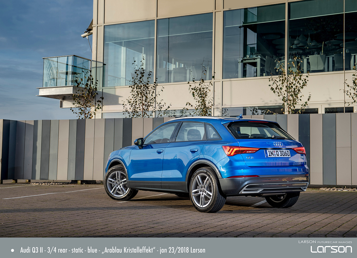 Audi Q Rendering Feb On Behance - Larson audi