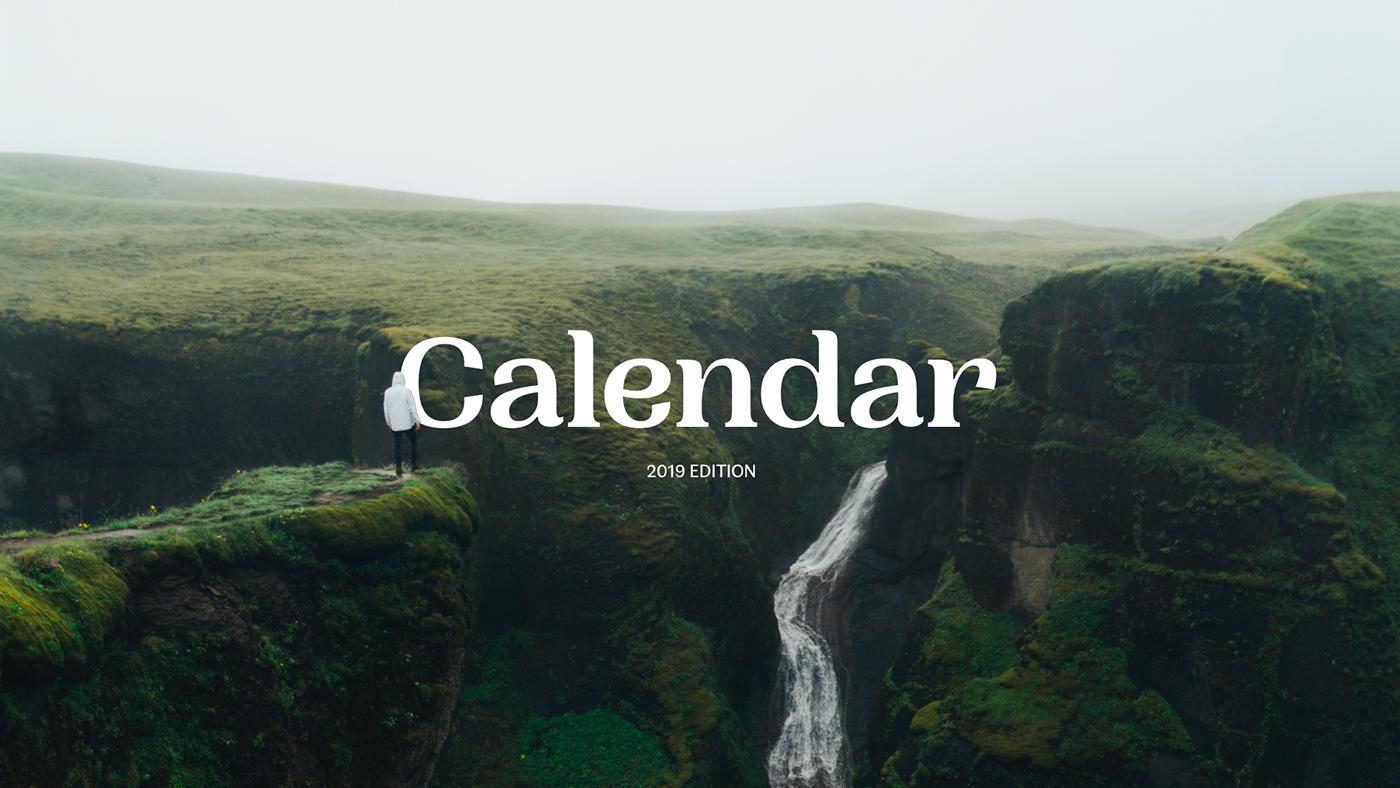calendar photos Photography  TWENTY NINETEEN calendar 2019 unsplash unsplash.com ressource editorial