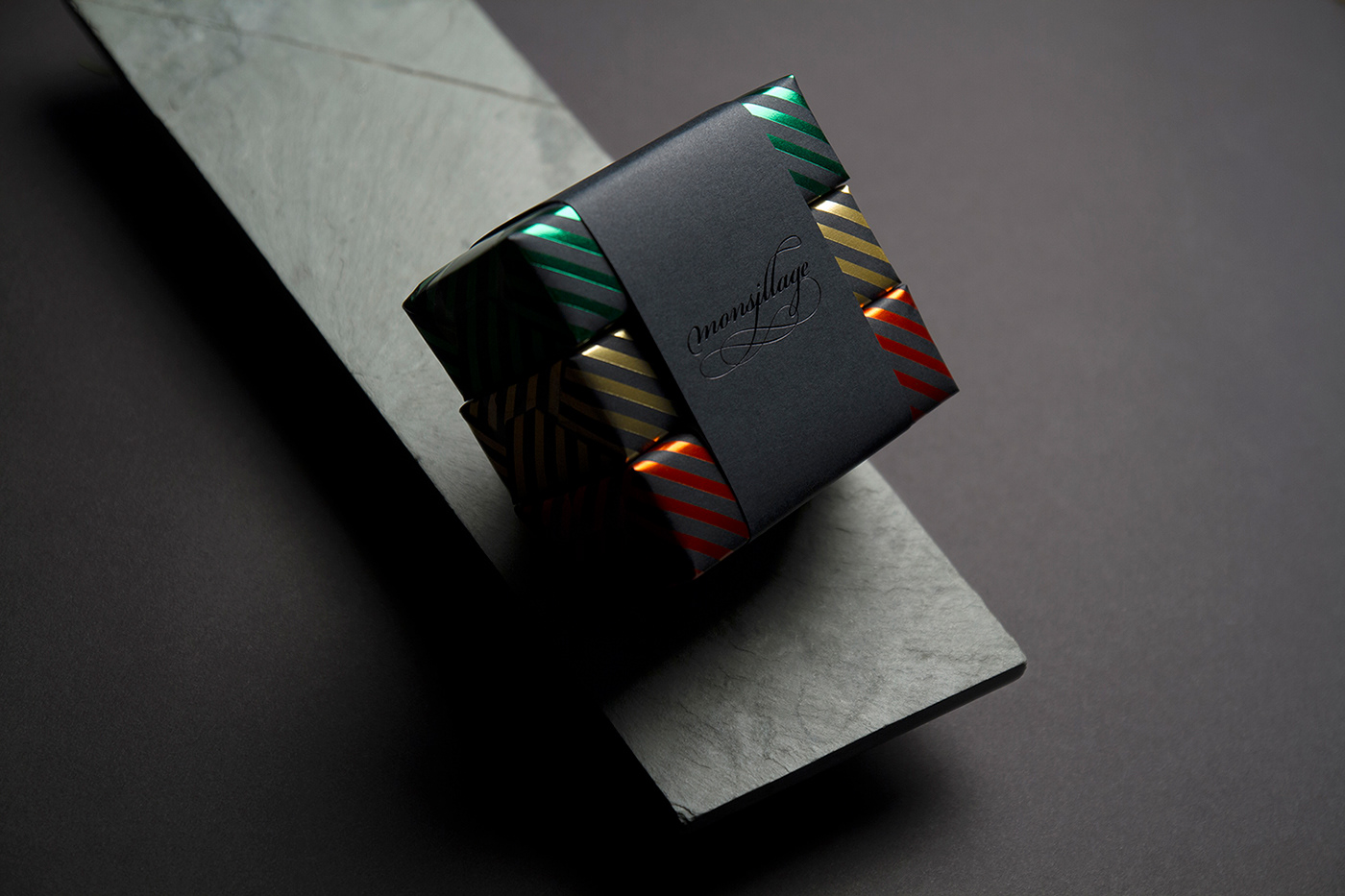 byhaus foil gold identity Packaging soap xmas