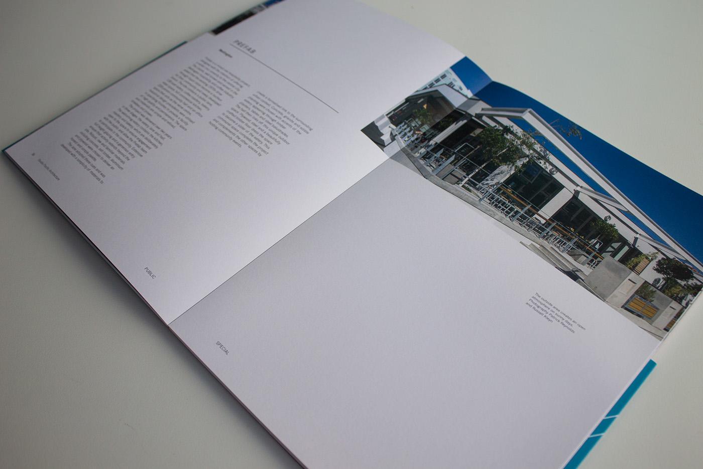 architecture book editorial design pacific bold