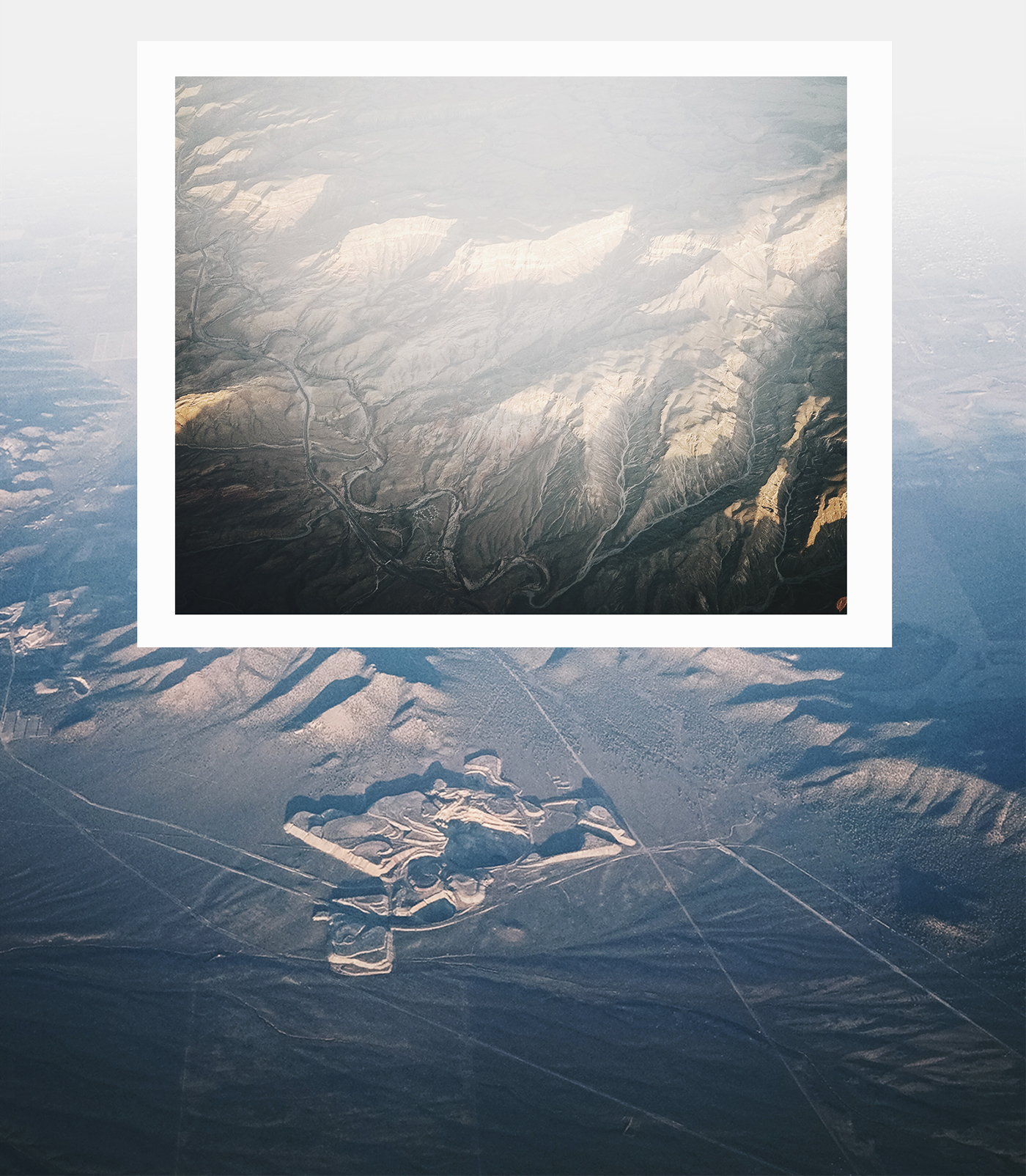 minimal nevada usa RoadTrip Aerial top Mockup free natural