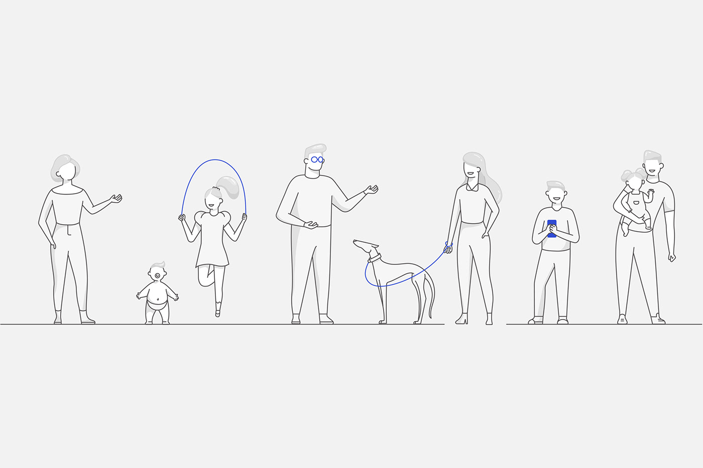 animation  brand branding  ILLUSTRATION  insurance insurtech IT marca Startup UI