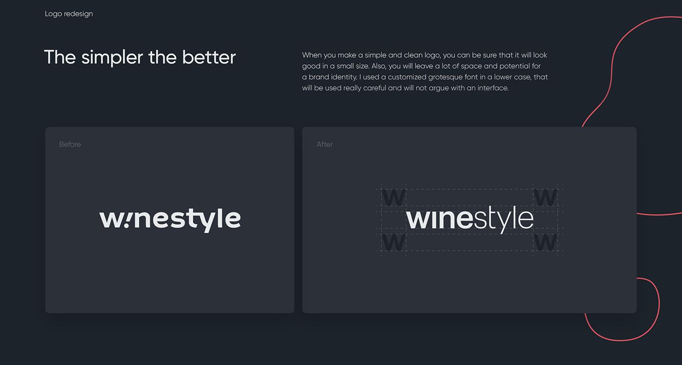 e-commerce iterface litvinenko studio mobile Online shop store UI ux Web wine