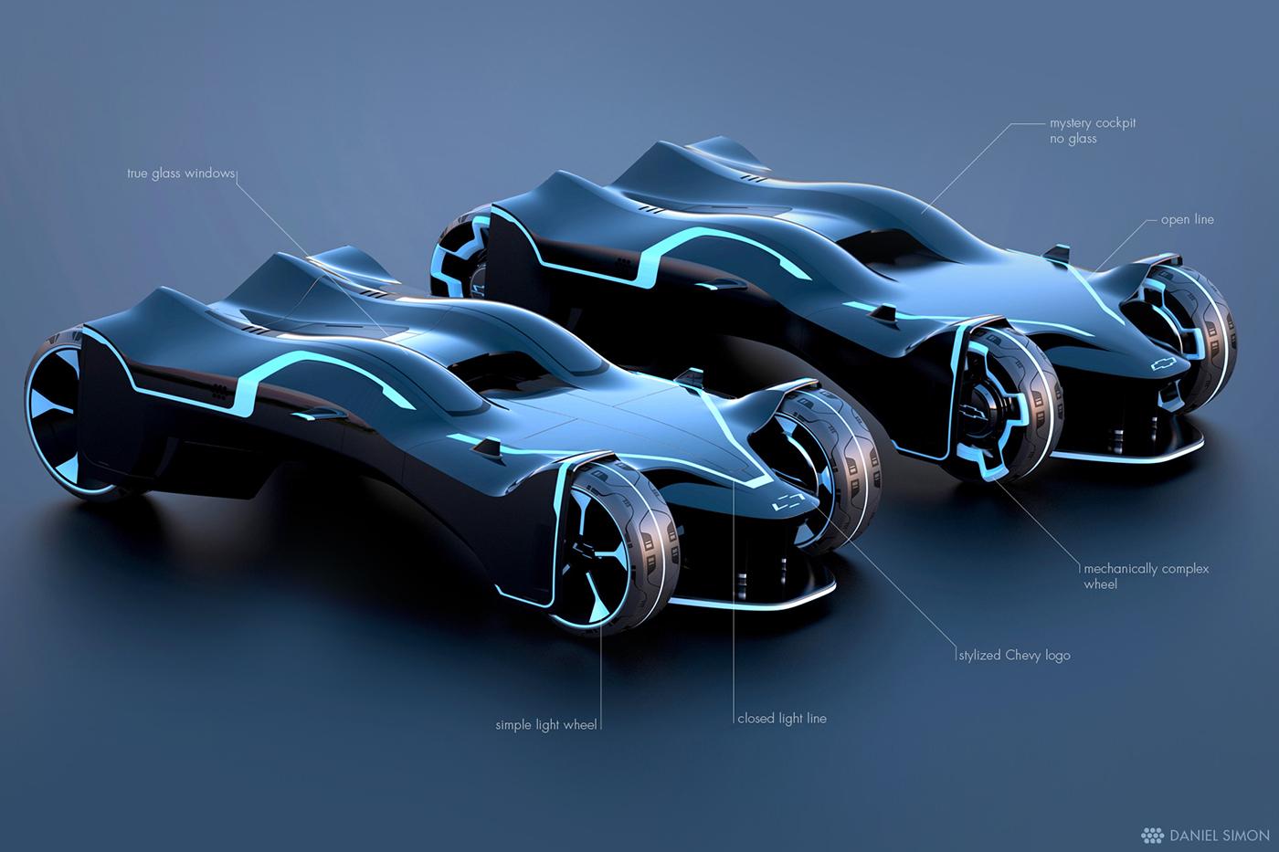 Race Inspired Car Estetic