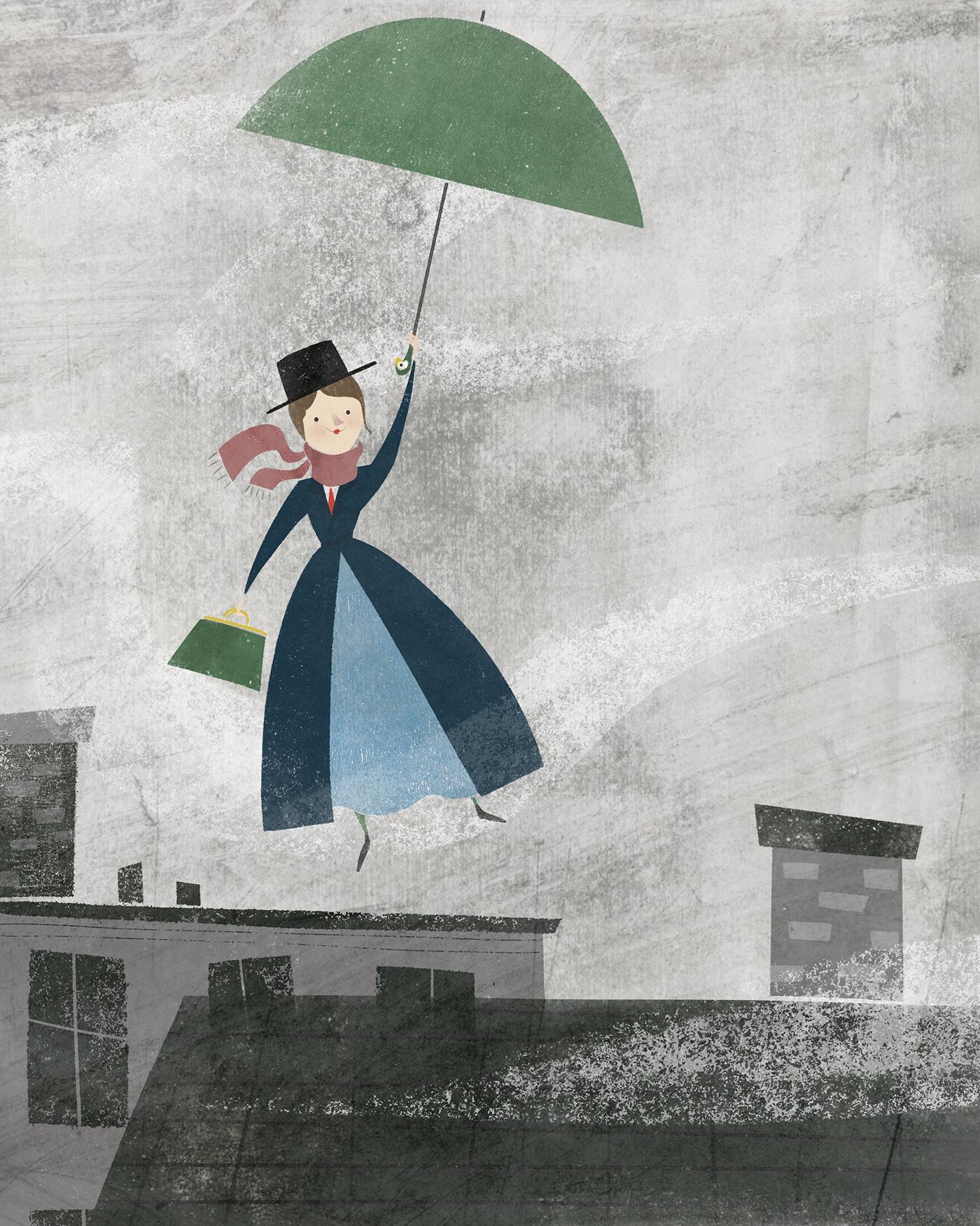 Image may contain: umbrella, accessory and cartoon