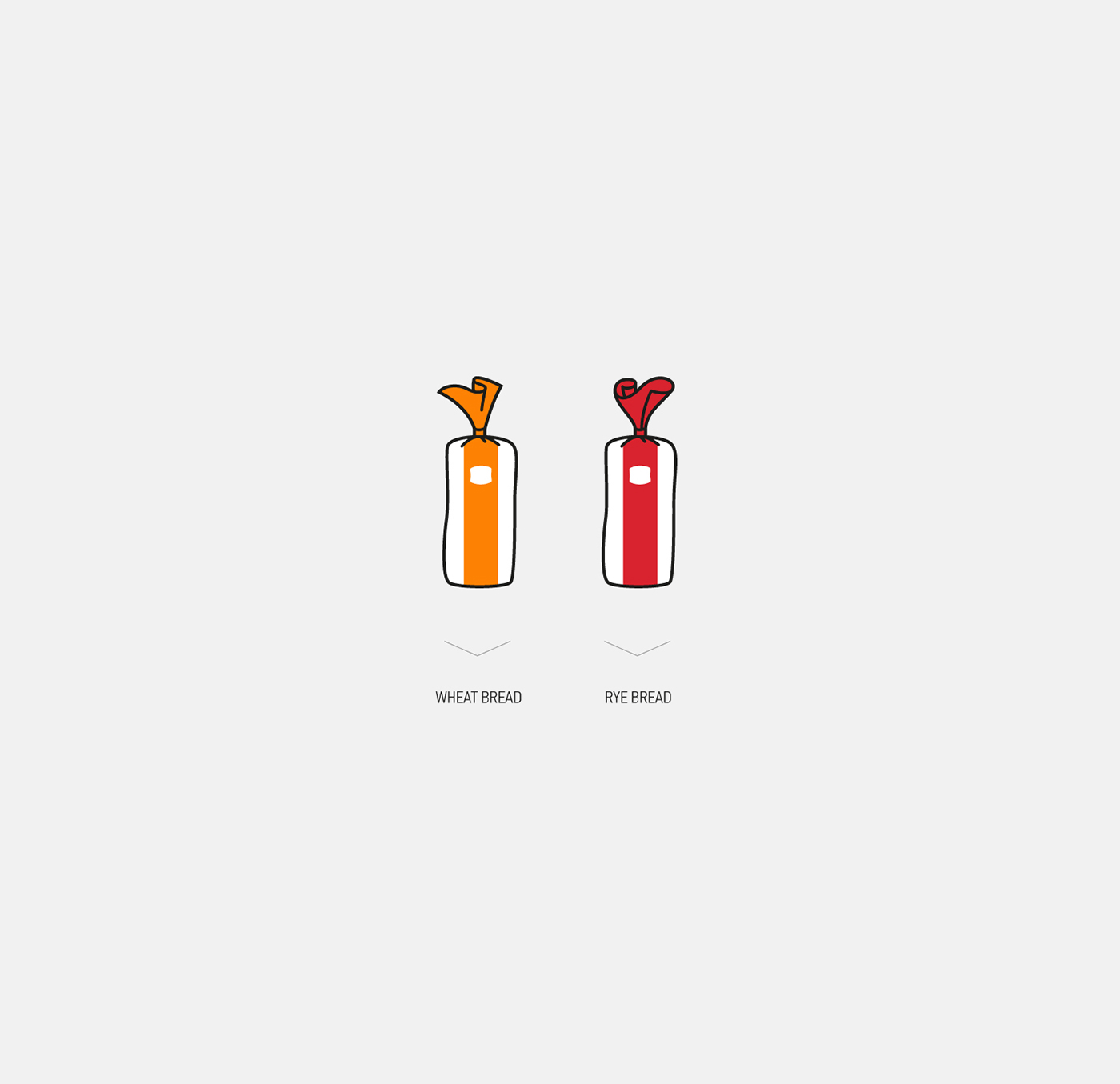 logo Packaging Positive Character герой упаковка херсон bread identity happy