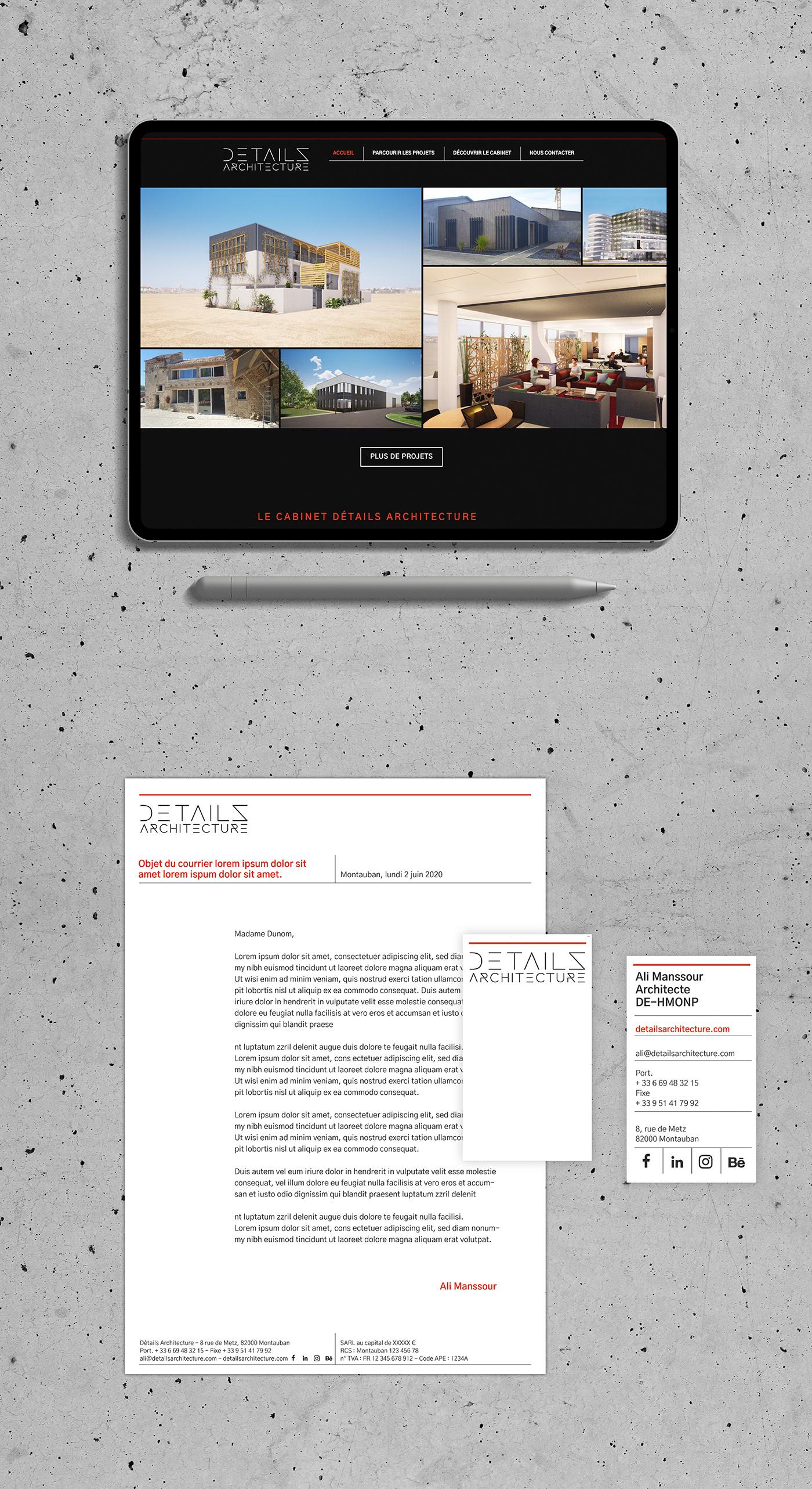 architect brand design identity logo YP